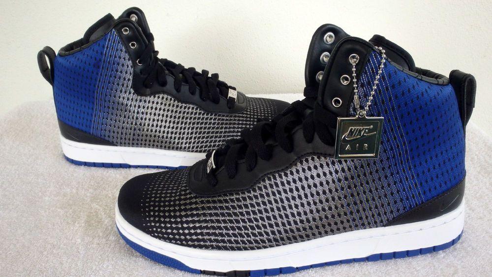 7fb7dbe4e85b Mens Nike Lifestyle KD 8 NSW VIII Royal Blk Metallic Silver 749637 ...