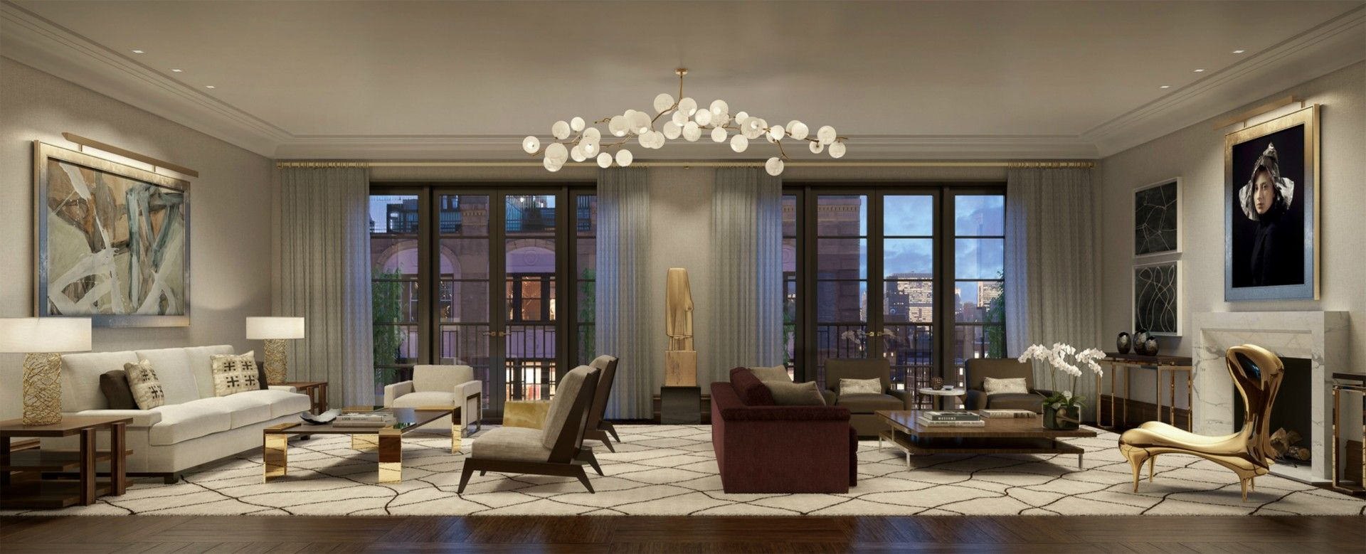 Pembrooke & Ives is a New York interior design firm that ...