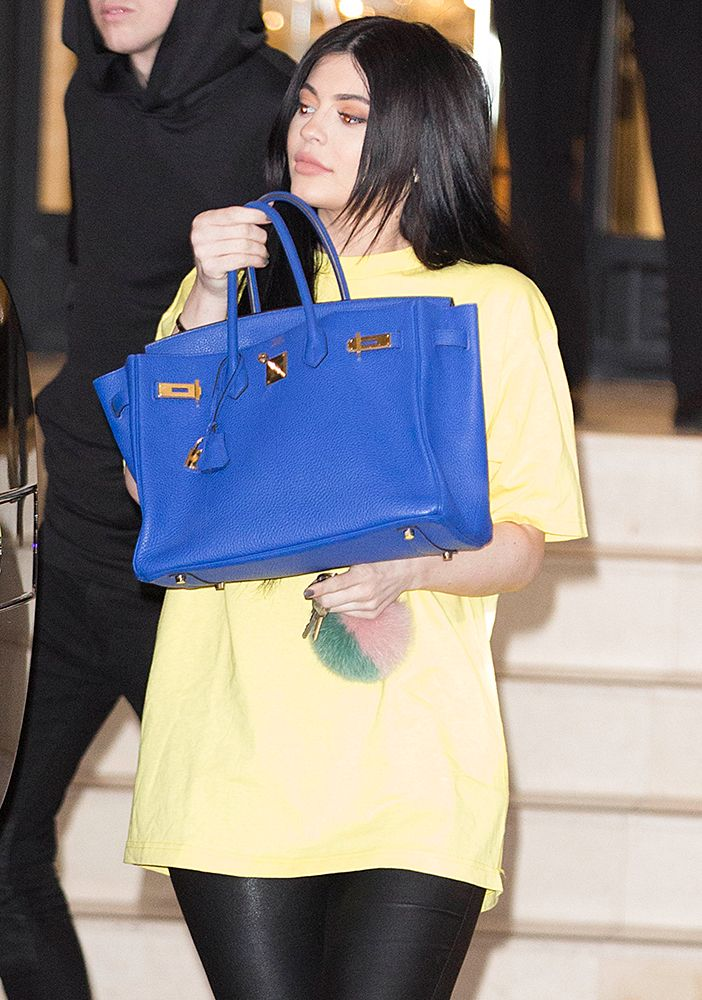 b1793260a3ea Kylie Jenner Birkin Bag