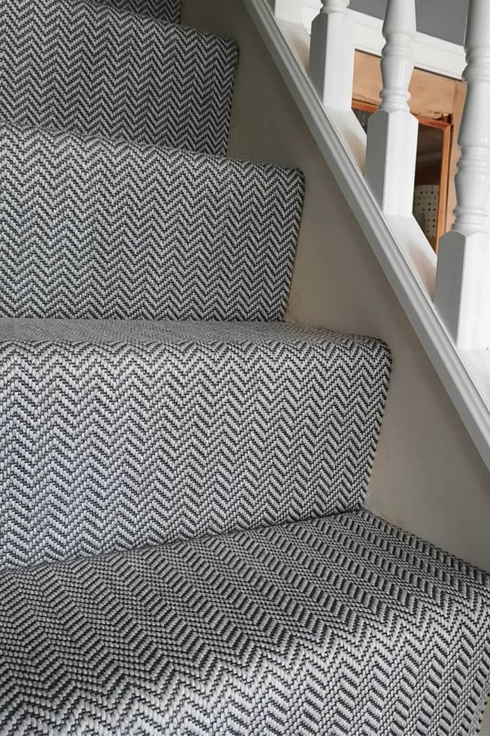Anywhere Herringbone Ice (8045) Faux Carpets