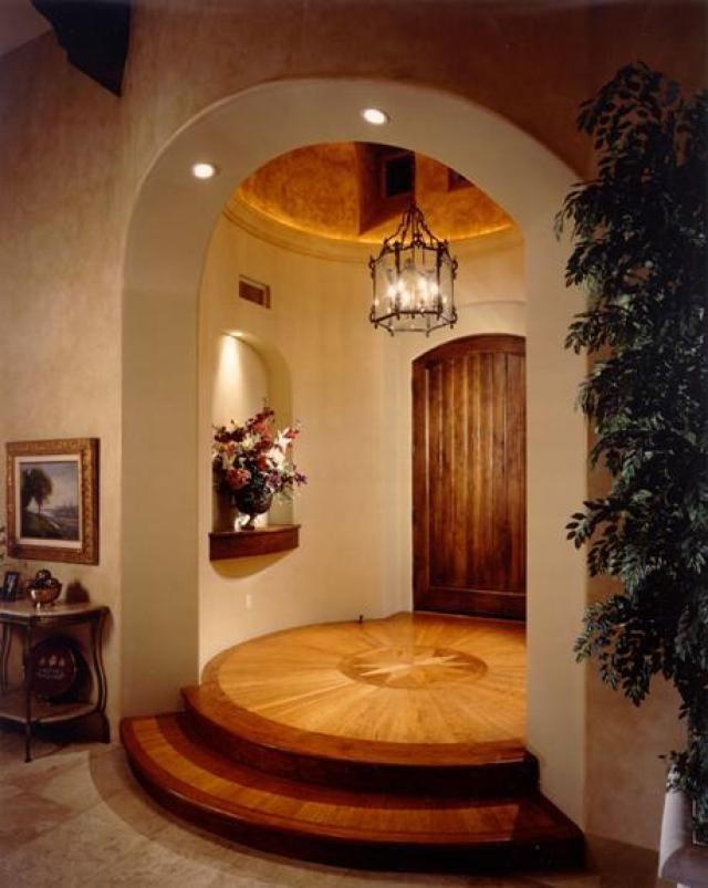 House Styles Round Rotunda Entry | 2011 Calvis Wyant Luxury Homes, Inc.    8755 E Bell Rd # 100 .