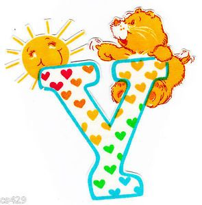 ❤️Care Bears and Friends ~ The Letter Y