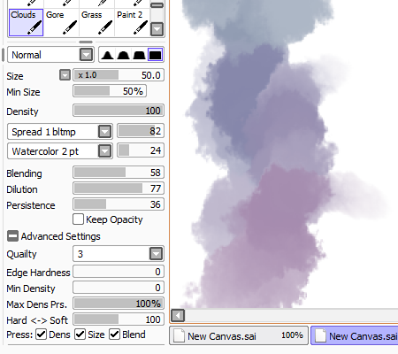 new paint tool sai version