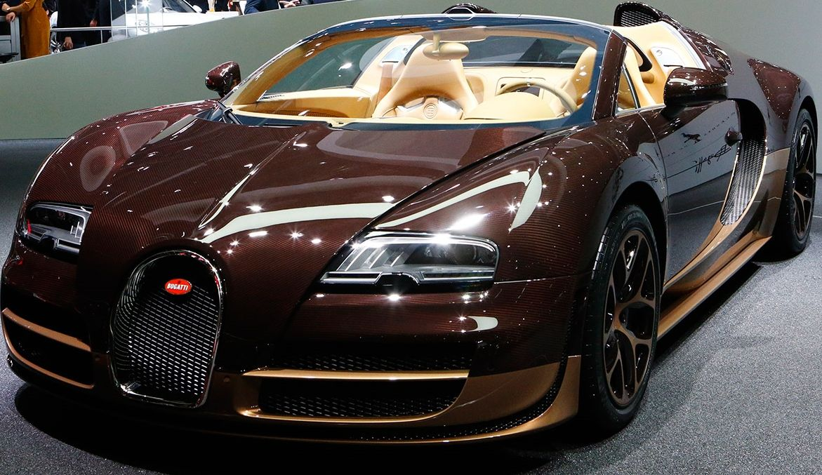 Bugatti Veyron Grand Sport Vitesse Rembrandt Limited Edition World Expensive Car Most Expensive Luxury Cars Expensive Cars