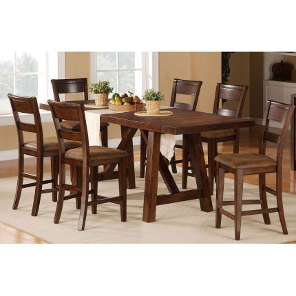 Holland House 5 Piece Dining Set. We Loved This Table So Much We Bought It.  It Is Nice And Narrow And Has A Great Rustic Feel.