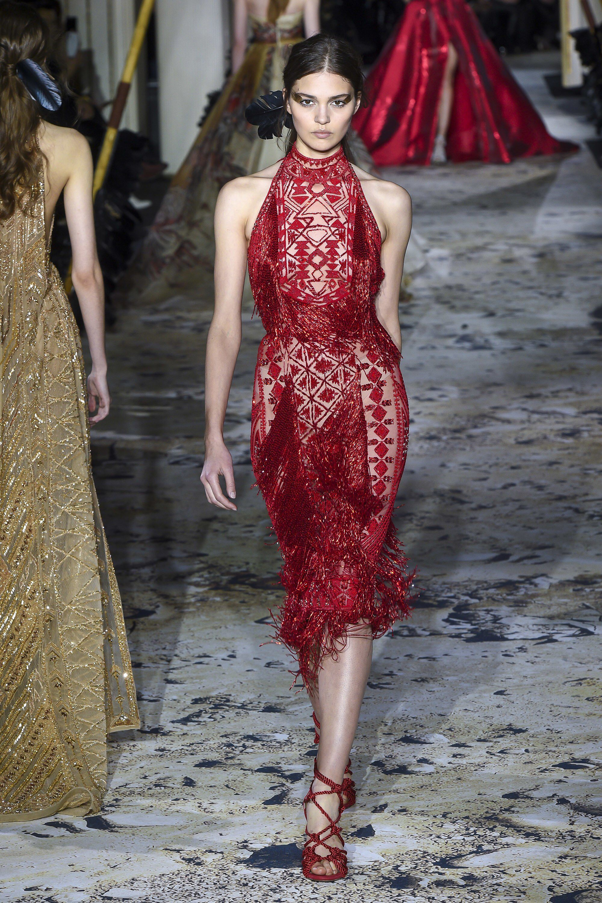 Zuhair murad spring couture fashion show collection runway