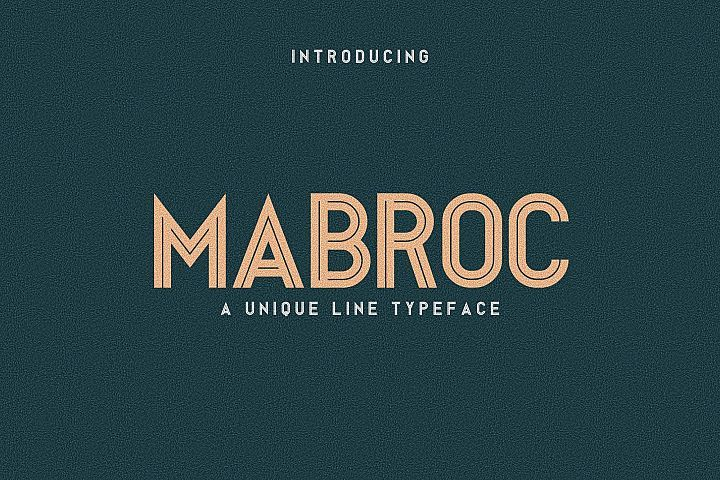 Mabroc from FontBundles.net