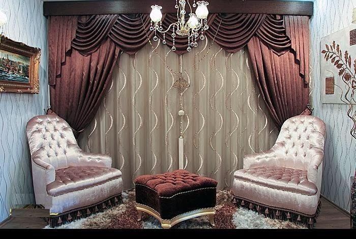 Living Room Curtains Design 2014 Ideas