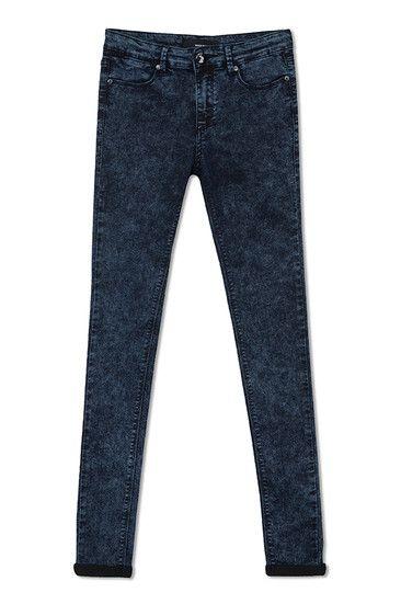 acid wash jegging #jeans #denim #TALLYWEiJL