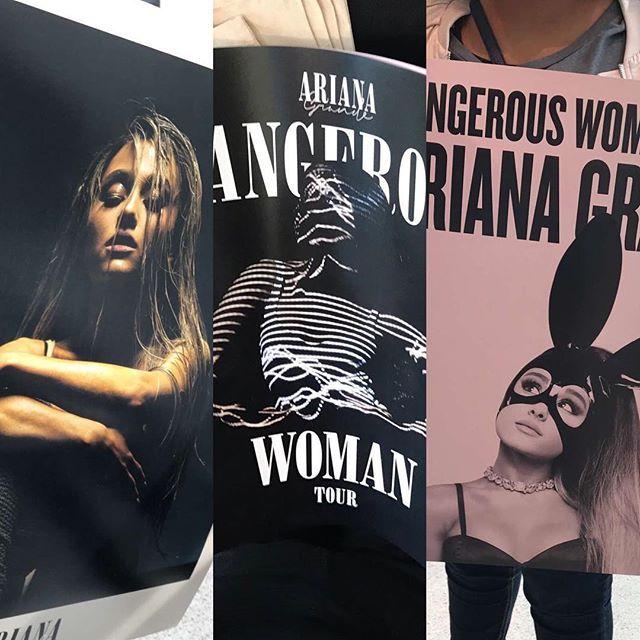 Denver News Dangerous Woman: These #DangerousWomanTour Posters Are Sold For $10 Each