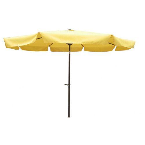 International Caravan St. Kitts 10u0027 Aluminum Patio Umbrella With Crank U0026  Tilt