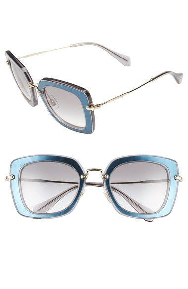 ... Óculos De Sol Retro e muito mais! Miu Miu 52mm Glitter Sunglasses  available at  Nordstrom 3acc763393