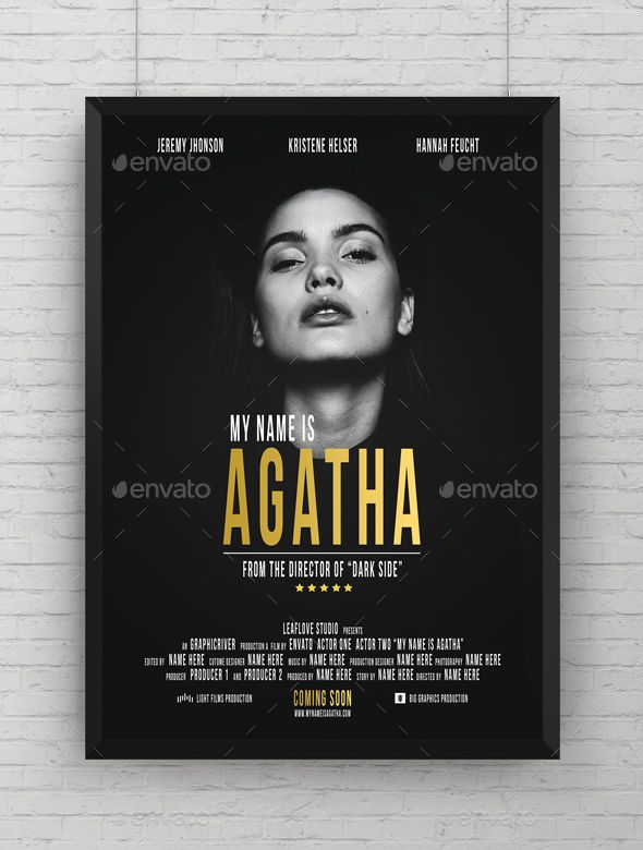 Pin By Cool Design On Flyer Design Movie Poster Template Movie