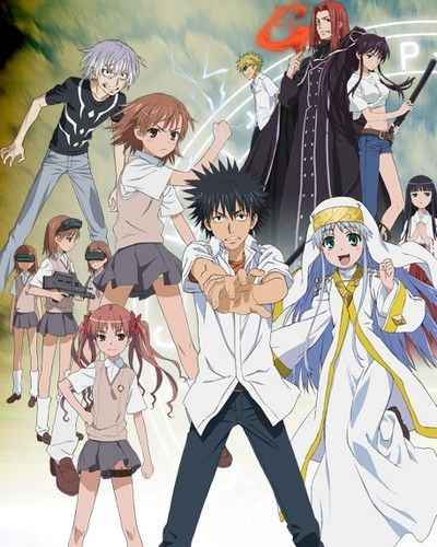 A Certain Magical Index | Anime | A certain magical index