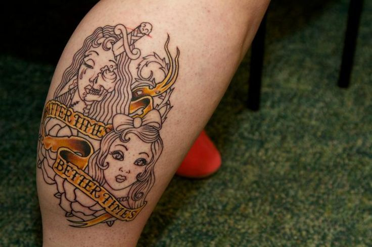 Bipolar Disorder Tattoo Shows Off Her Tattoo Which Bipolar