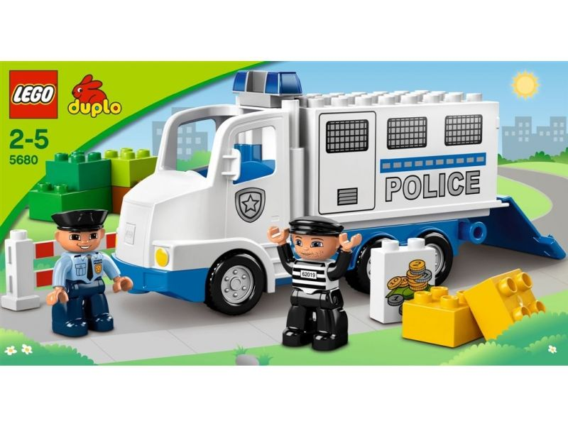 Lego Ciężarówka Policyjna Duplo 5680 Policja Sklep Gifts For Kids