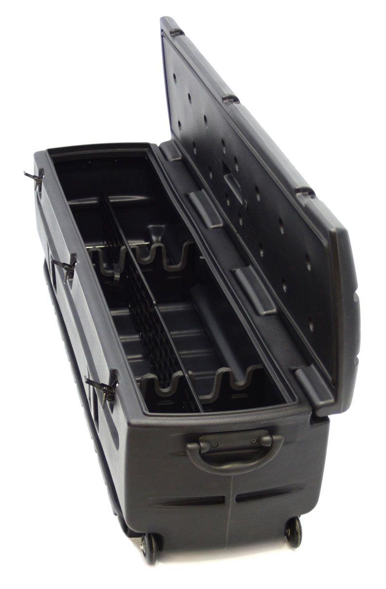 includes removable dividers  organizer gun rack set du ha tote part  gifts