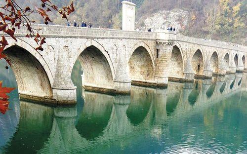 Most na reci Drini - na Drini ćuprija