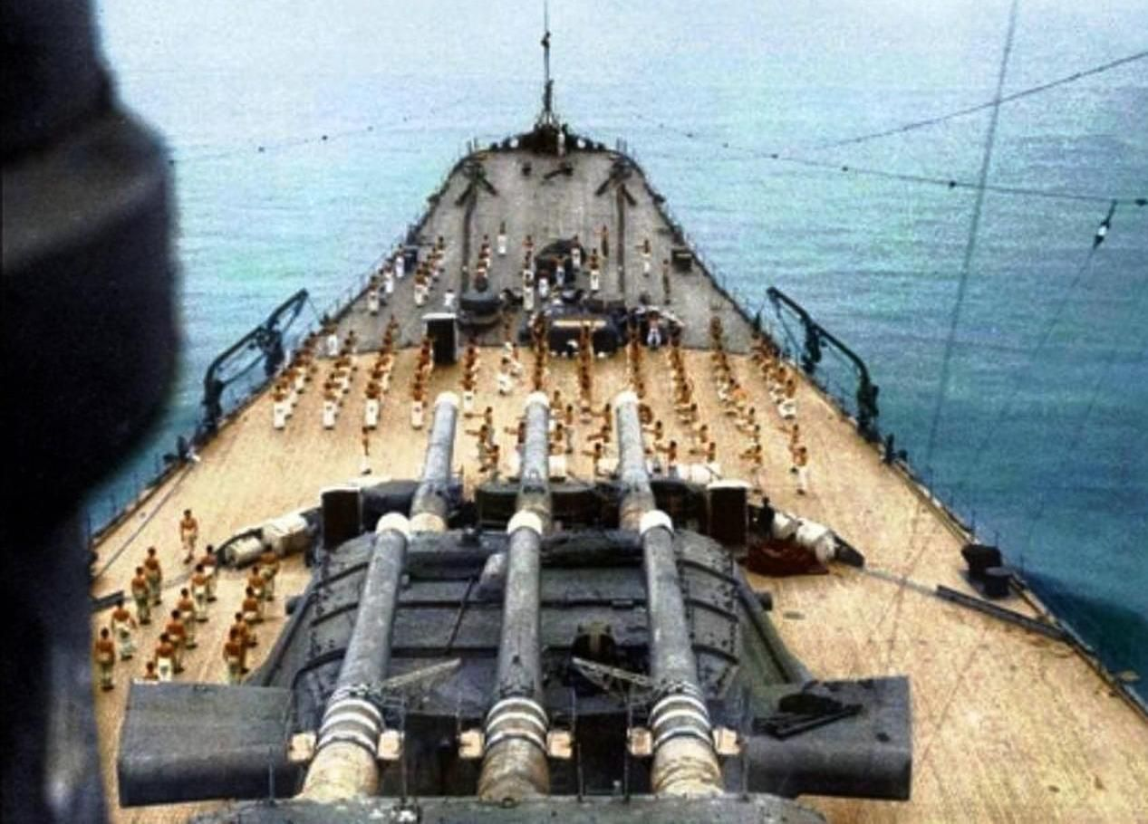 Japanese battleship Yamato | History - World War II
