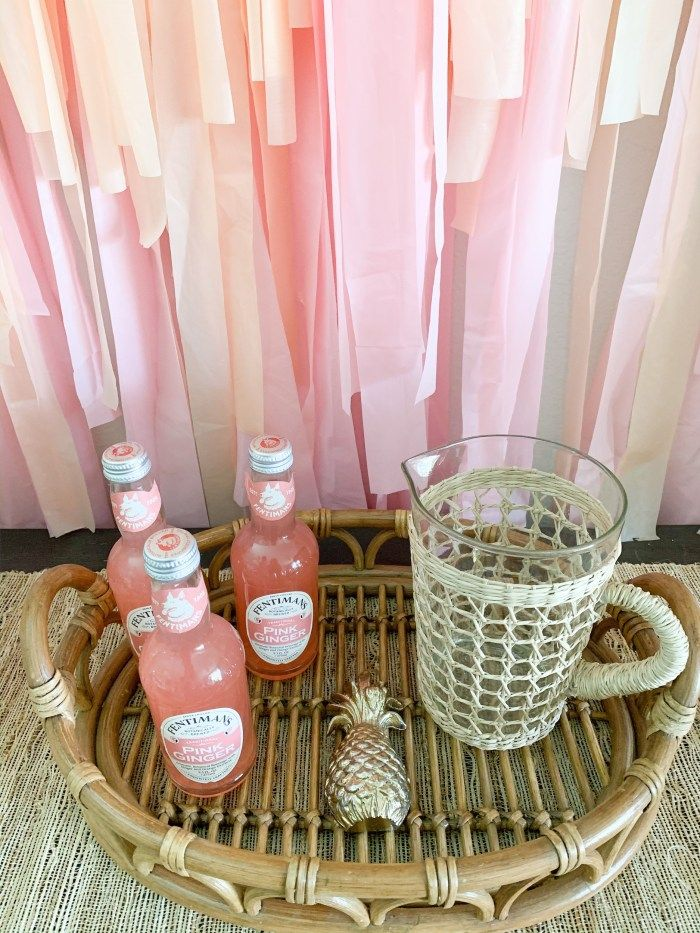 Streamer Backdrop DIY & Boho Party
