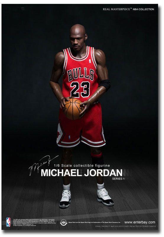 f67ec1f32573  4.5 - Michael Jordan The Legend Chicago Bulls Poster Fridge Magnet Size  2.5