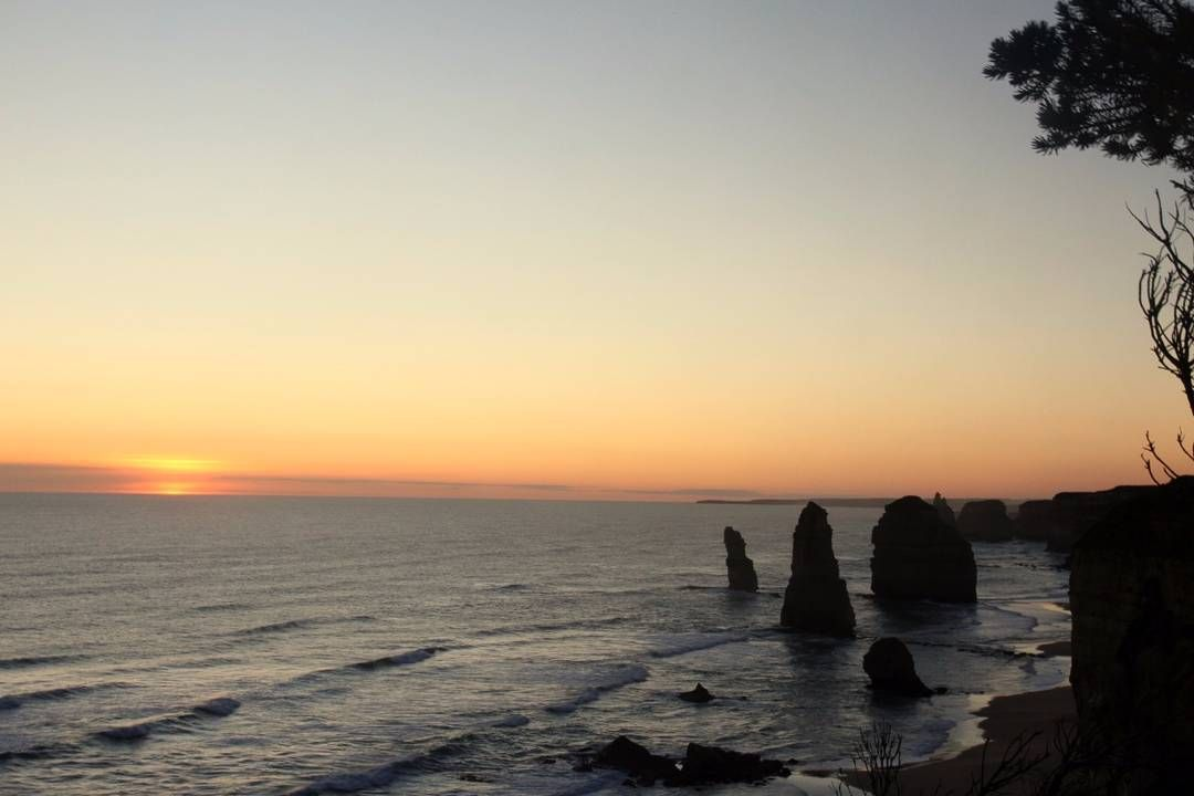 #greatoceanroad #12apostles #sunset by avikdalal