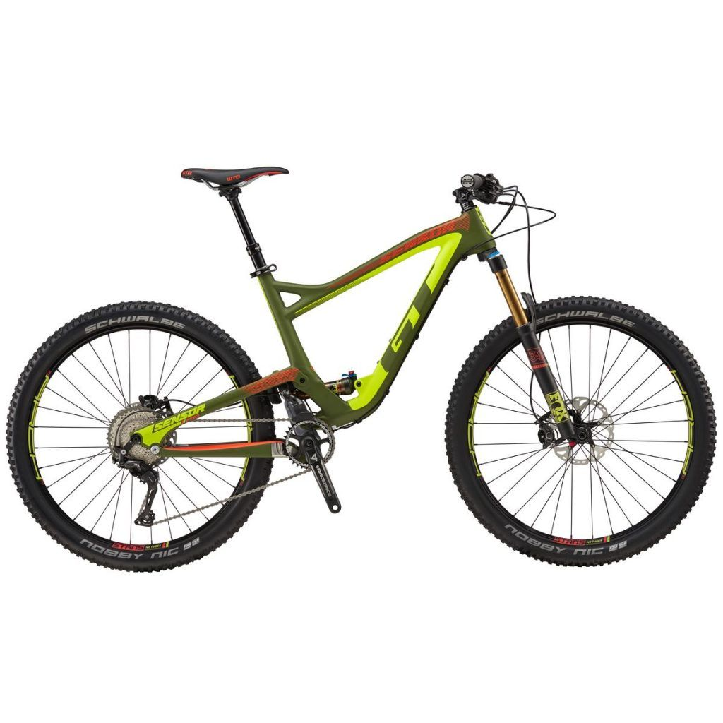 Gt Sensor Carbon Pro Complete Mountain Bike 2017 Military Green