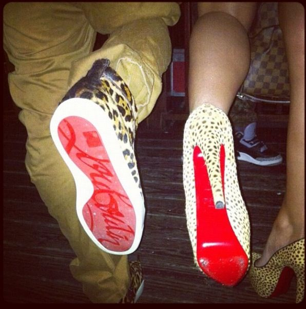 Matching red bottoms   Red bottoms