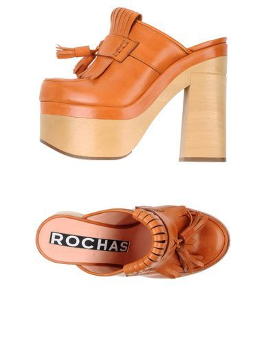 """ROCHAS"" Chunky Mules"