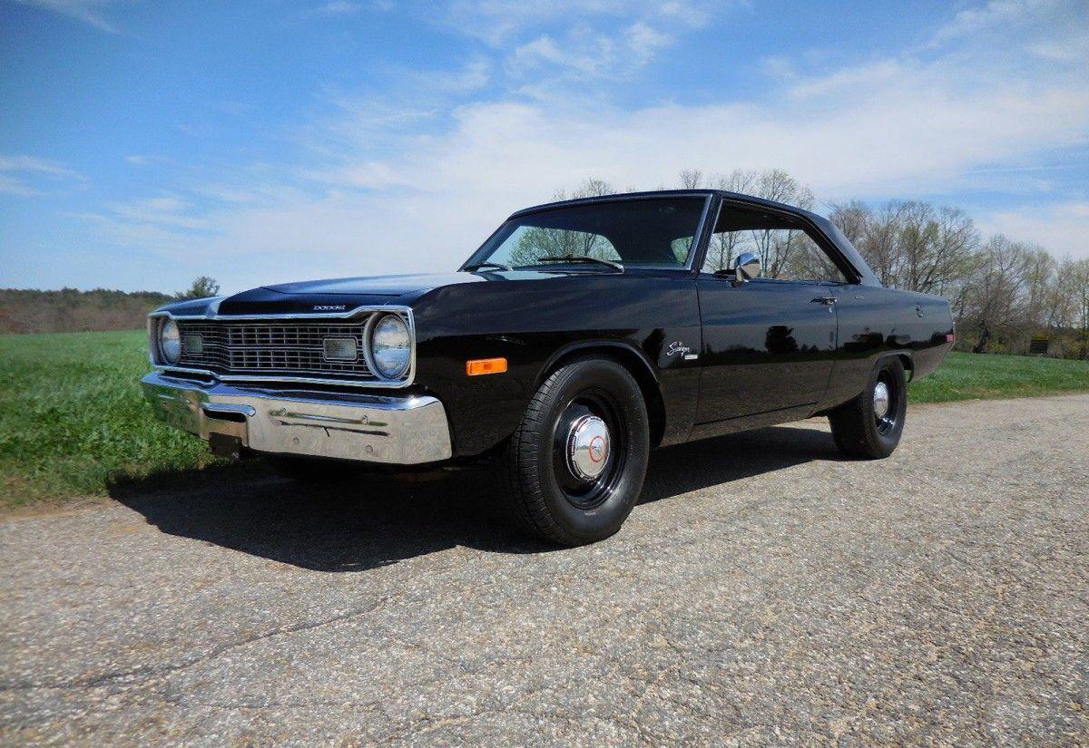 440 6 Pack 4 Speed 1973 Dodge Dart Dodge Dart Dodge Classic Cars