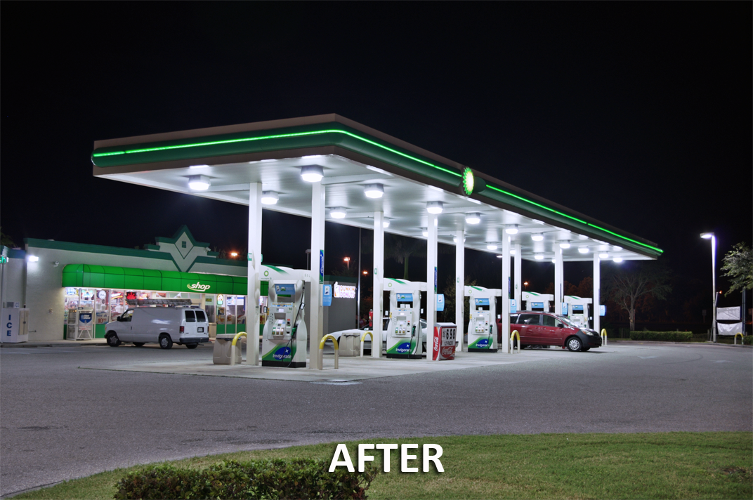 gas station canopy lights - Google Search : gas canopy - memphite.com