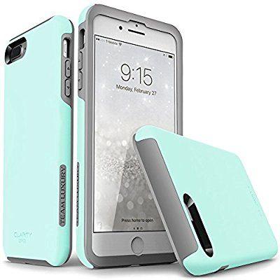 new concept 8e3bc ea4c6 Amazon.com: iPhone 7 Plus case, iPhone 8 Plus case, TEAM LUXURY ...