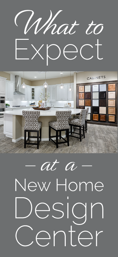 What To Expect At A New Home Design Center | Richmond American Blog