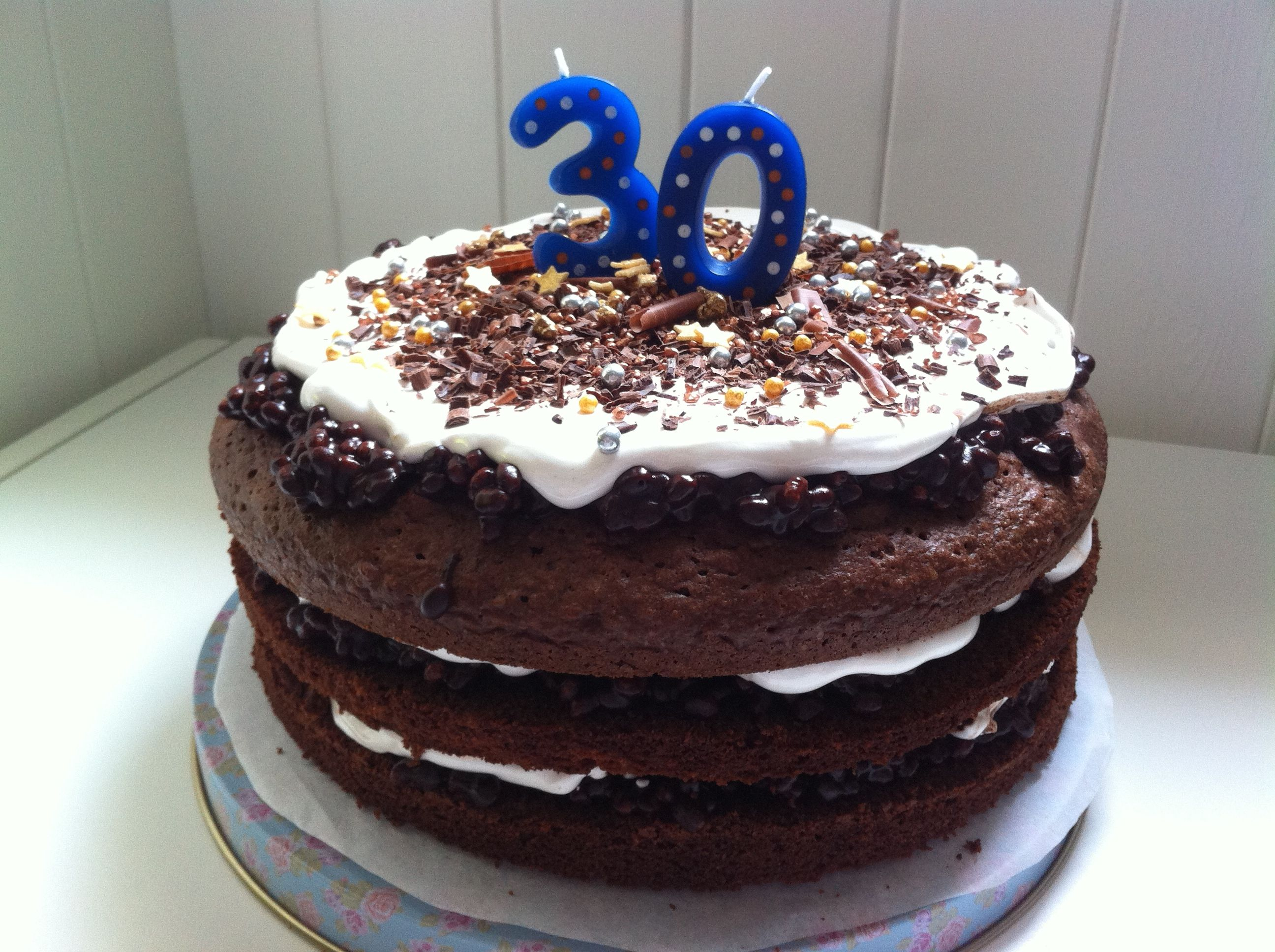 Jamie Olivers celebration cake from Comfort Food for a very