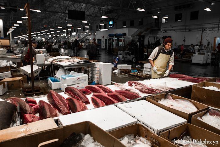 The New Fulton Fish Market At Hunts Point The Bronx