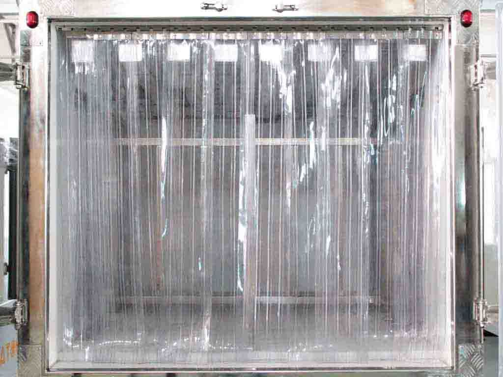 Plastic Freezer Strip Curtains Is A Cost Effective Way To Control