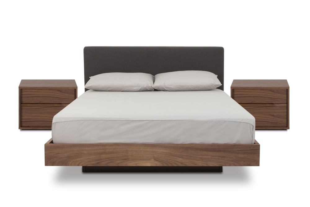 The Joseph Bed Is A Simple Modern Floating Bed Wrapped In