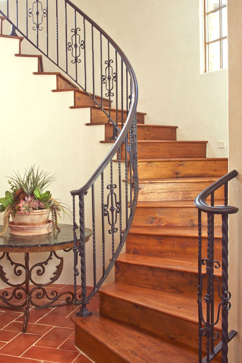 Best Thompson Custom Homes Wrought Iron Stairs Wrought Iron 400 x 300