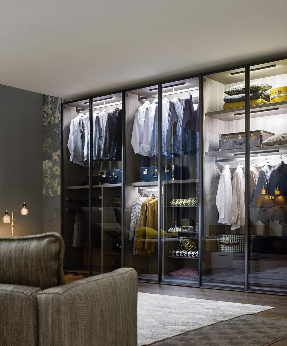 Designer Kleiderschränke kleiderschrank industrial design dekoration ideen