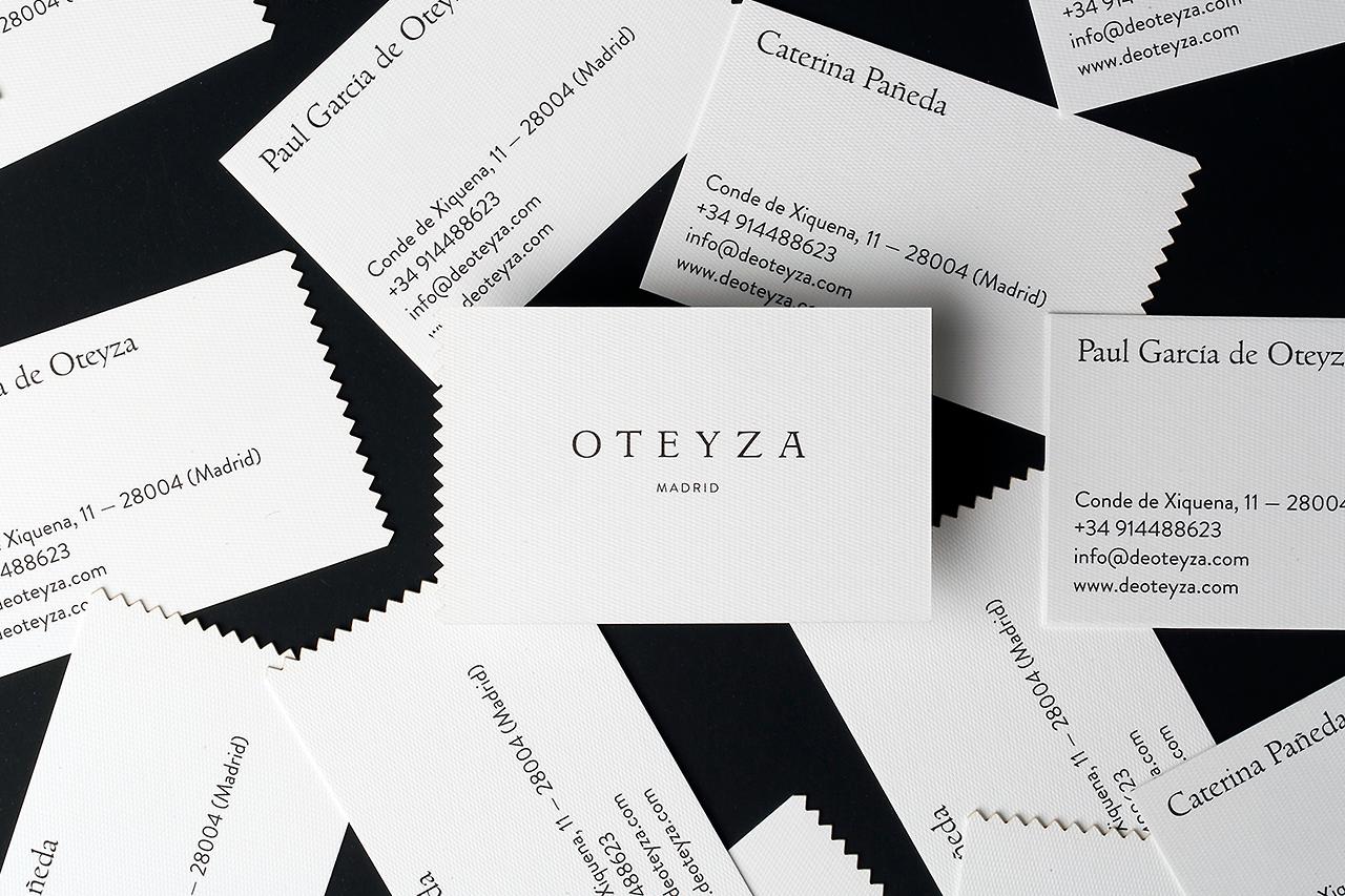 "Branding for Otezya by Brecha Studio ""Logo and business card design ..."