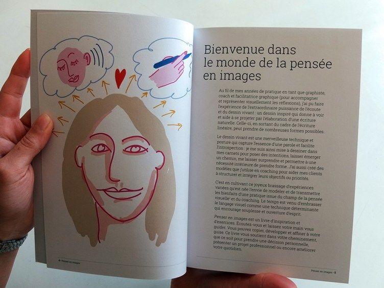 """""""Penser en images"""" de Vanina Gallo (Éditions Mango). Bienvenue dans le monde de la pensée en images."""