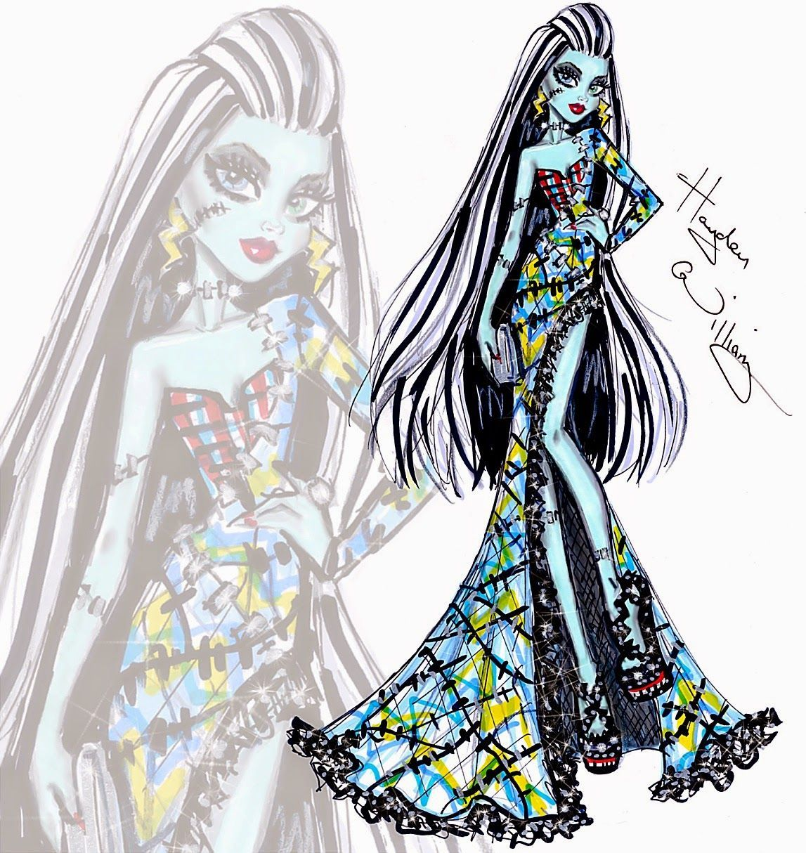 High Fashion Sketches