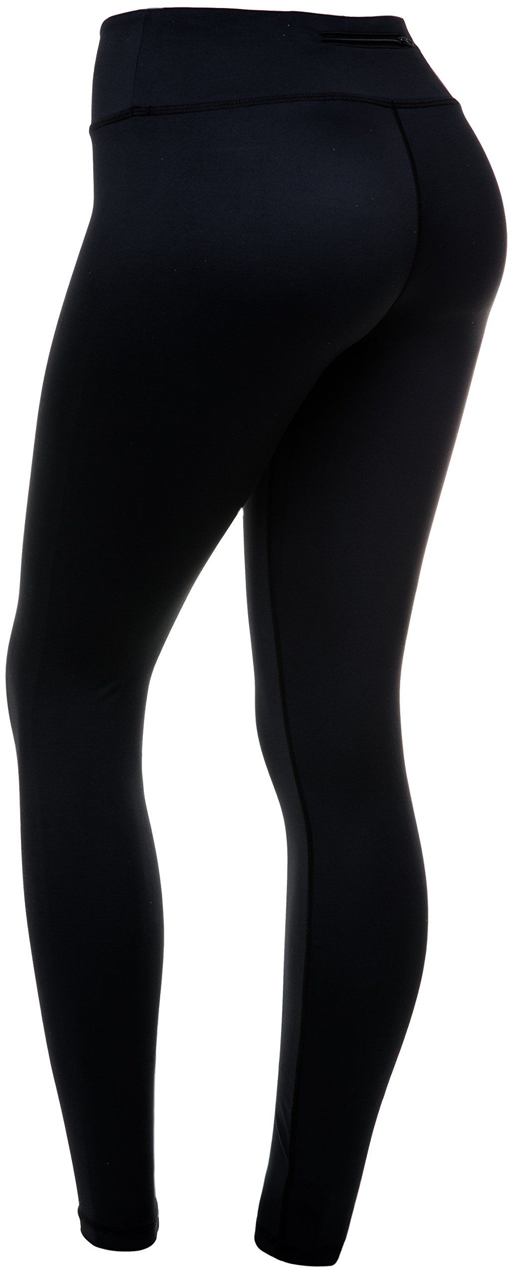 3cb5c92b7f60d4 CompressionZ Womens Compression Pants Black XL Best Full Leggings Tights  for Running Yoga Gym -- Click image to review more details.