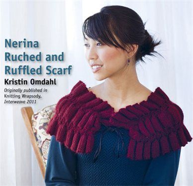 Nerina Knitted Scarf As Seen On Knitting Daily Tv Episode 1113