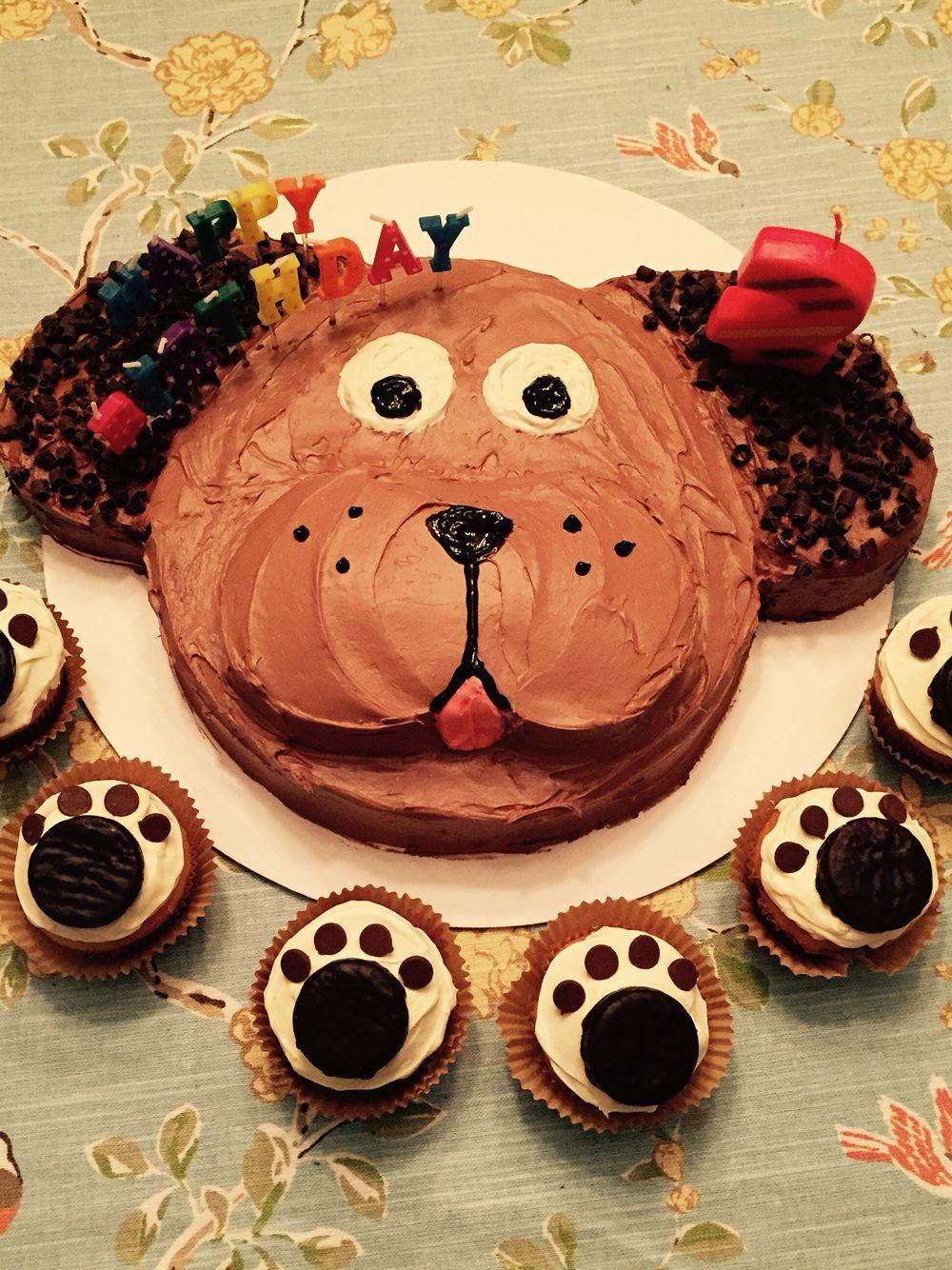 Puppy dog birthday cake cakes pinterest birthday cakes