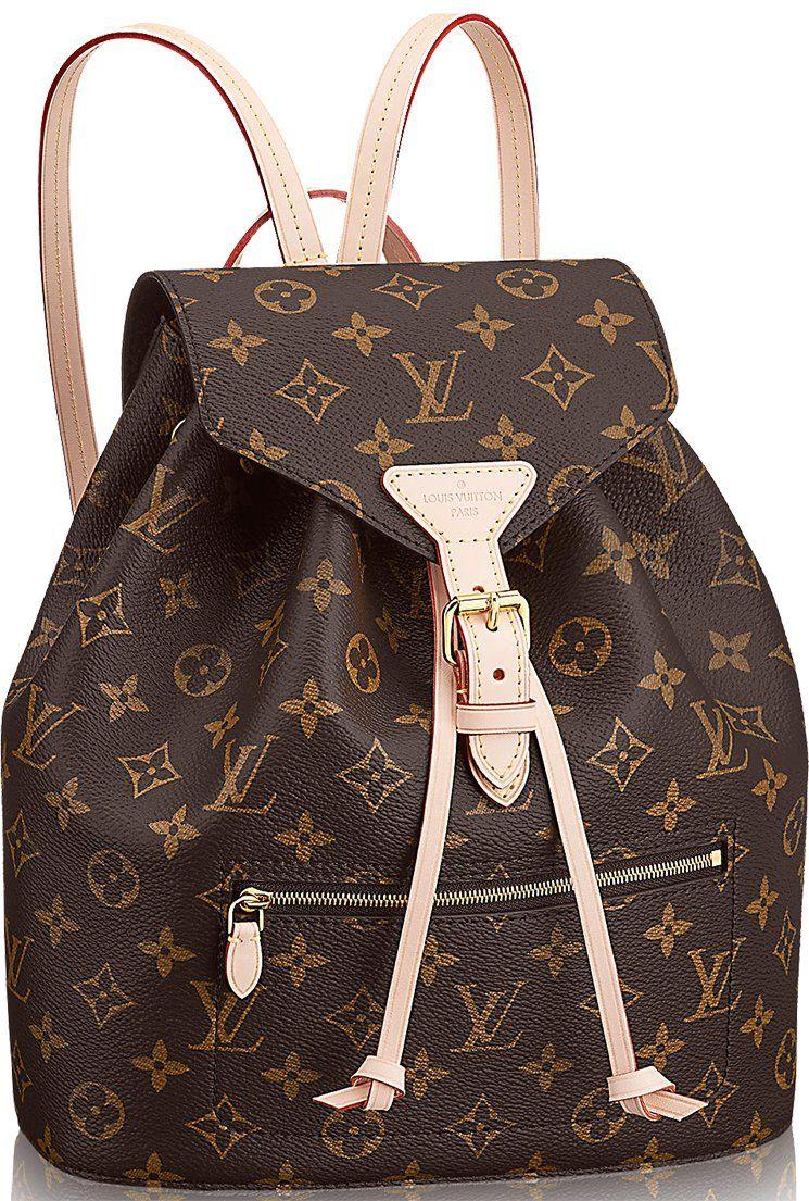 Louis Vuitton Montsouris Backpack Gets An Update #louisvuittonhandbags