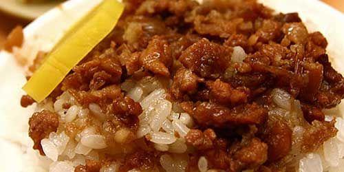 Lu rou fan – viande braisée au riz