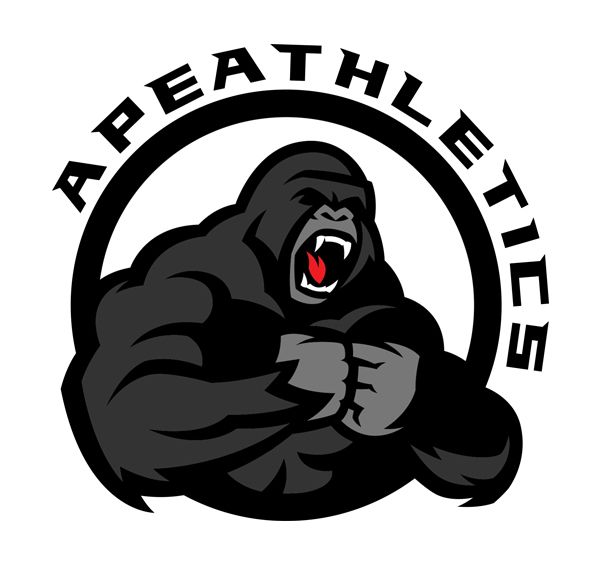 Https Www Behance Net Gallery 35264801 Ape Athletics Monkey Logo Logo Illustration Apes