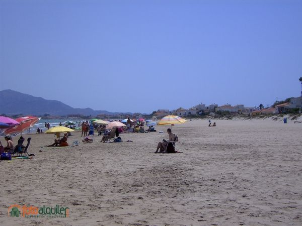 Denia. Playa Les Deveses, Denia, Alicante, Spain Denia