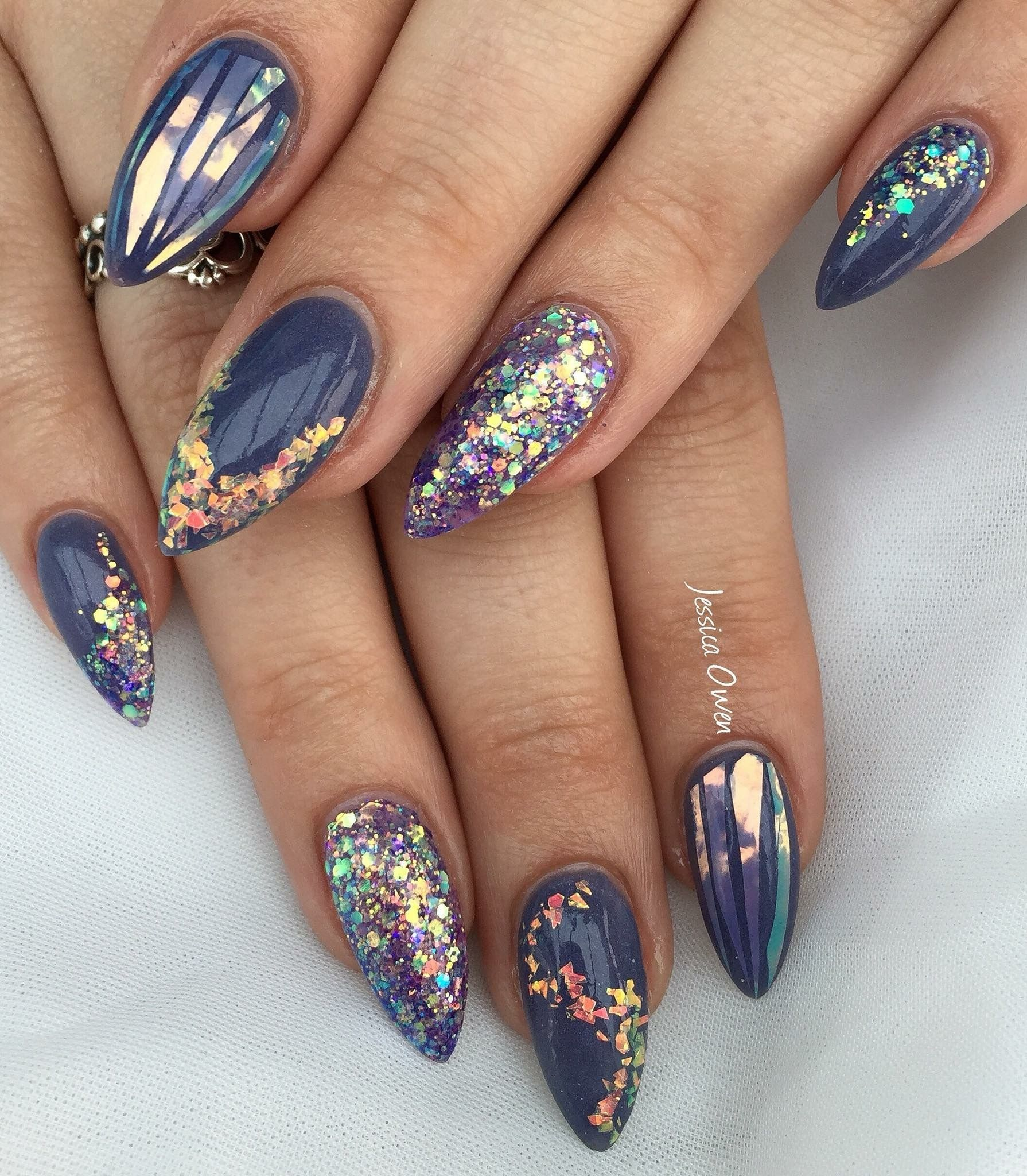 Pin by Alexya on cute nails in 2020 | Matte nails design
